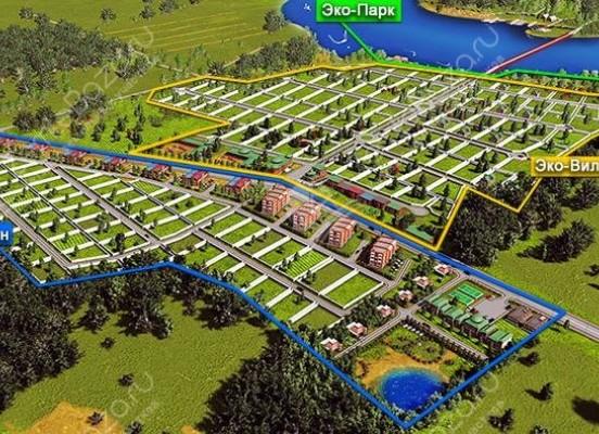 Интерактивная карта земельных участков
