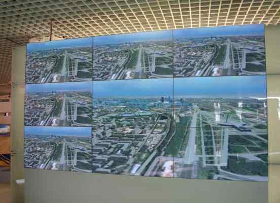 Интерактивный виртуальный 3d тур, Новая горбушка