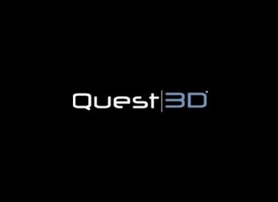 Подгрузка текста из внешнего файла в Quest3d