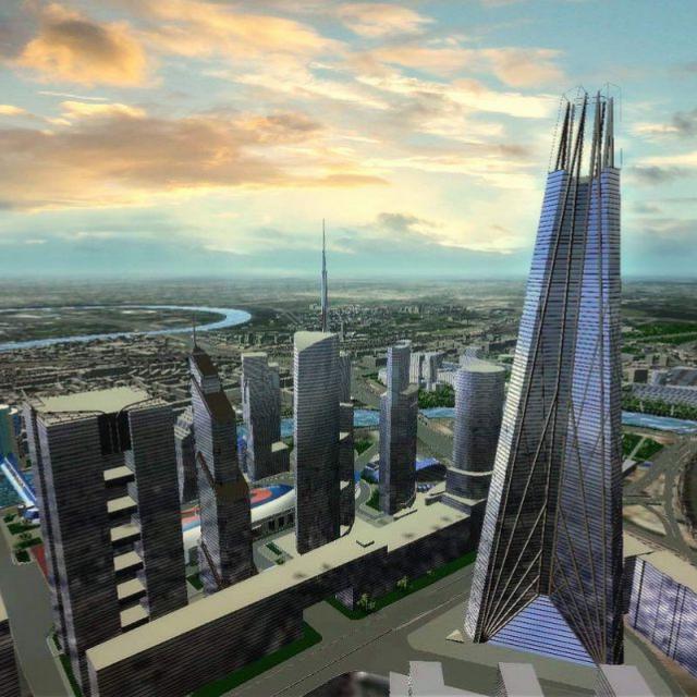 Интерактивный виртуальный 3d тур, Москва-Сити